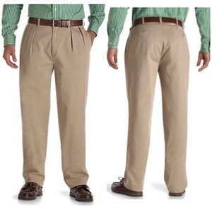 Polo by RL Big Andrew Pleated Chino Pant 44Bx30